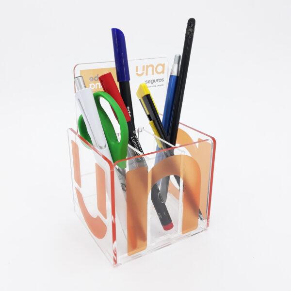 Merchandising Personalizado - Porta Canetas - UNA