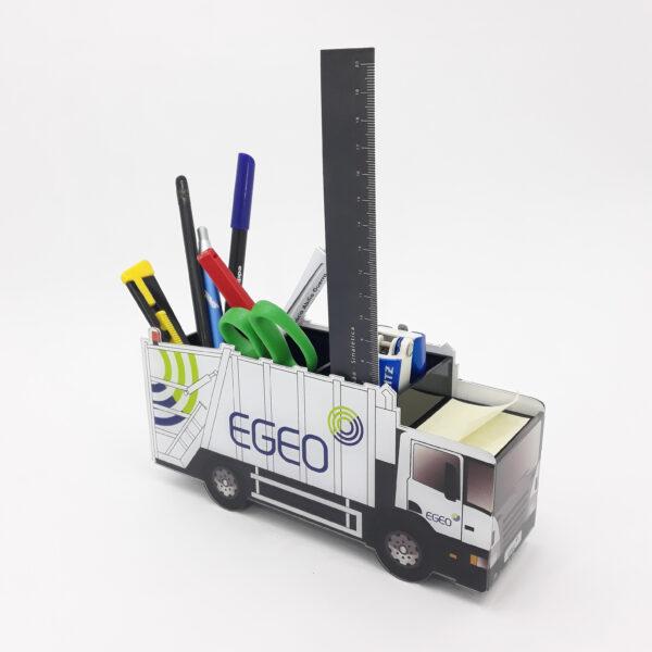 Merchandising Personalizado - Camião EGEO